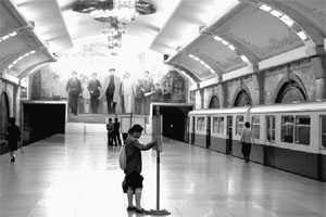 Пхеньянское метро.