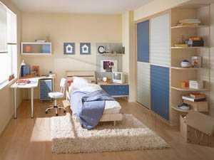 Дизайн маленькой детской комнаты фото.