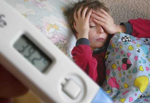 сын нагнал себе температуру