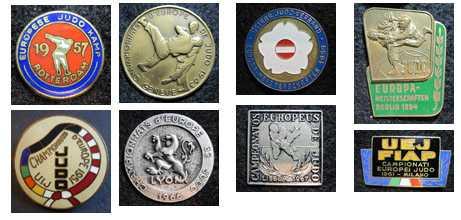 Icons from the Collection of the Judo R.Andrеyanova (Bratsk) Значки о дзюдо из коллекции Р.Андриянова (г.Братск)