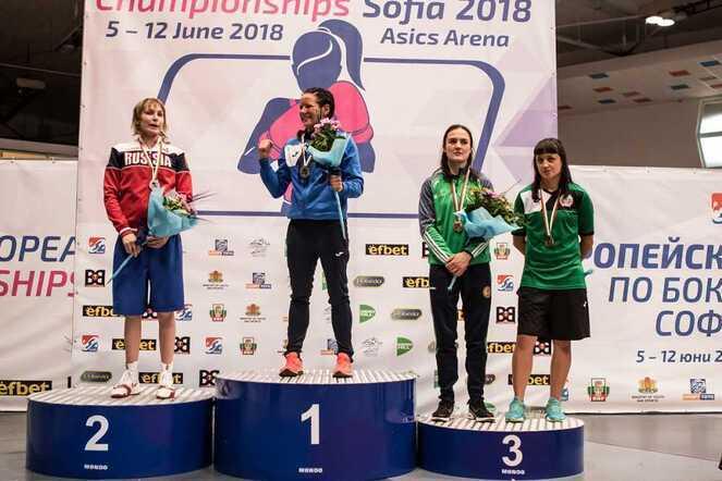 Челябинка привезла серебро с Чемпионата Европы по боксу
