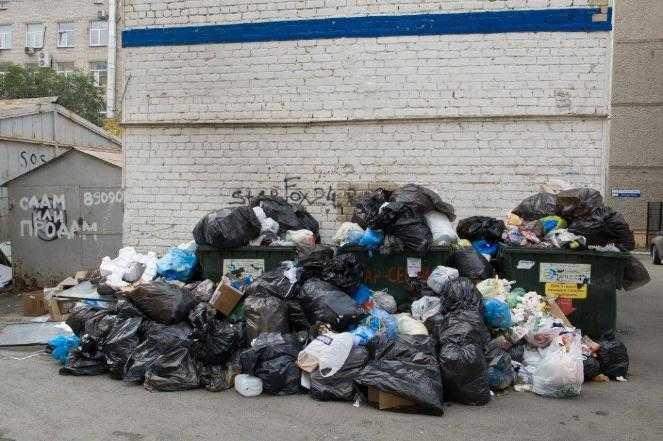 Власти Челябинска ввели режим повышенной опасности из-за мусорных завалов