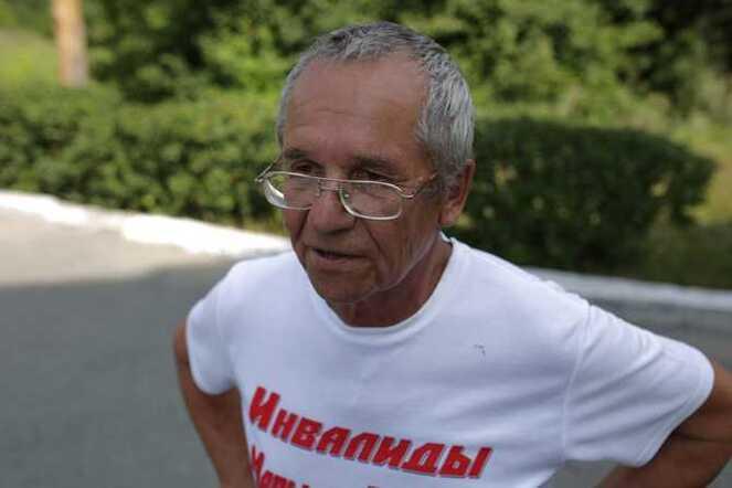 Инвалид-марафонец дошел из Ангарска до Челябинска. Вечерний Челябинск.