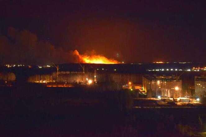 Из-за лесного пожара вЧелябинской области закрыли дорогу