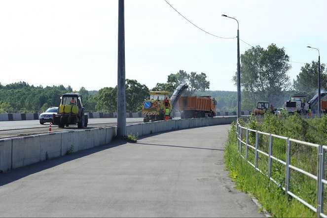 В Челябинской области на трассе М5 ограничили движение до конца лета