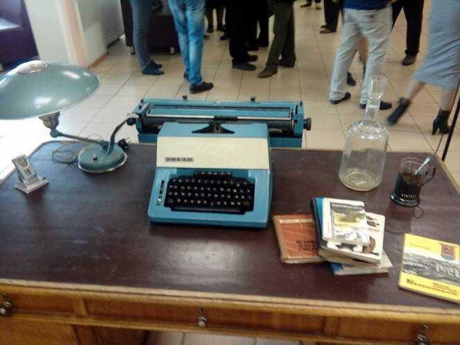 Висторическом музее открылась выставка, приуроченная к первому редактору газеты «Вечерний Челябинск»