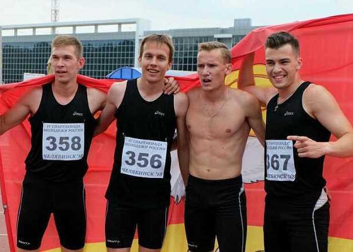 Южноуральские легкоатлеты стали четвертыми наСпартакиаде молодежи РФ